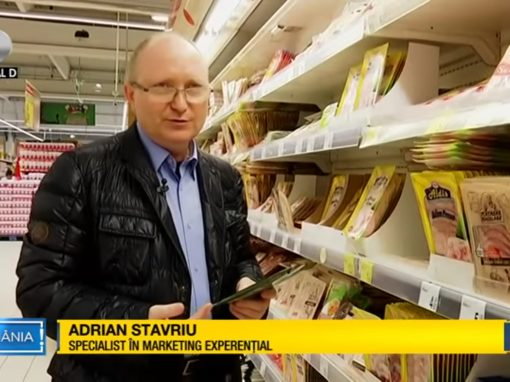 Adrian Stavriu invitat la Canal D, Asta-i Romania, ca specialist in marketing